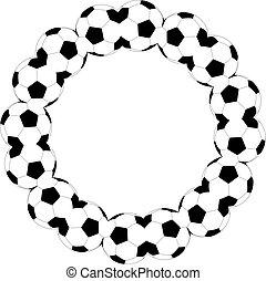 padrão, bola futebol