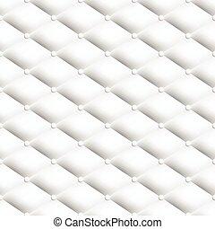 padrão, branca, chesterfield