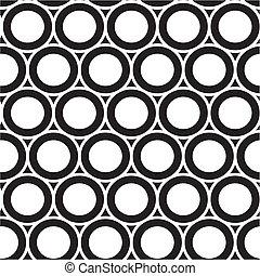 padrão, círculo