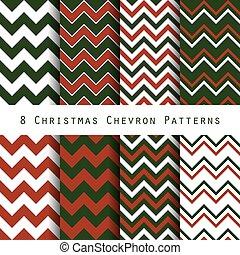 padrão, chevron, natal, cobrança