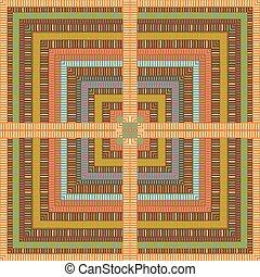 padrão, coloridos, geométrico