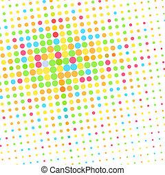 padrão, coloridos, ponto, fundo