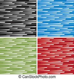 padrão, cores, velocidade, 4
