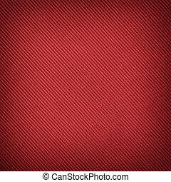 padrão, diagonal, experiência listrada, vermelho
