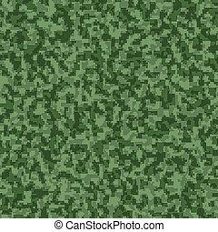 padrão, digital, seamless, fundo, camuflagem