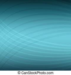 padrão, energia, teal, fundo, onda