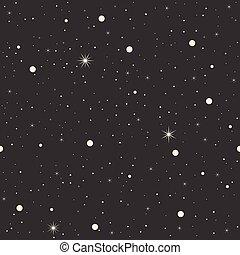 padrão, estrela, seamless