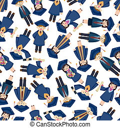 padrão, estudante, seamless