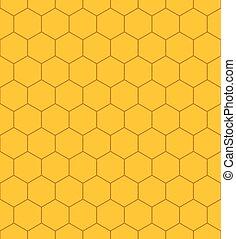 padrão, favo mel