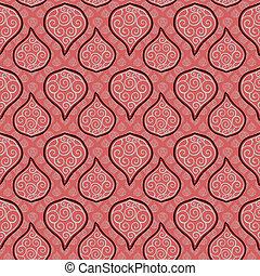 padrão floral, 02, seamless