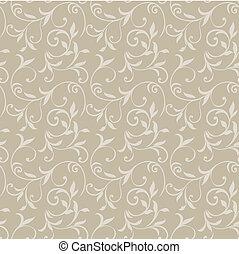 padrão floral, 08, seamless