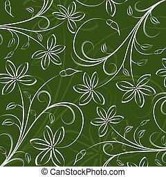 padrão floral, abstratos