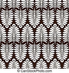 padrão floral, abstratos, wallpaper., seamless