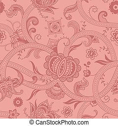 padrão floral, c, seamless