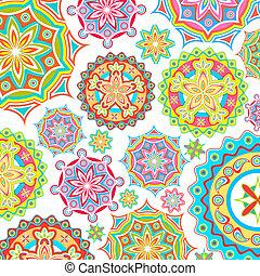 padrão floral, coloridos