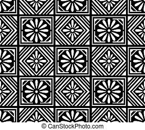 padrão floral, desenho, seamless