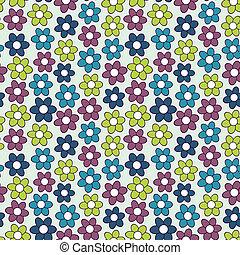 padrão floral, flowers., seamless