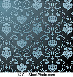 padrão floral, fundo