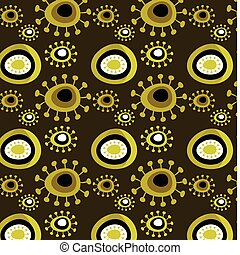 padrão floral, grunge