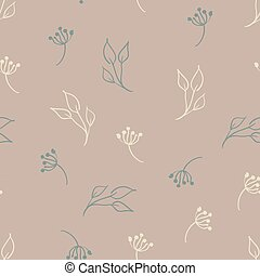 padrão floral, modernos, desenho