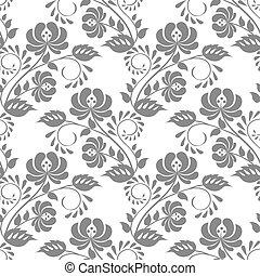 padrão floral, renda