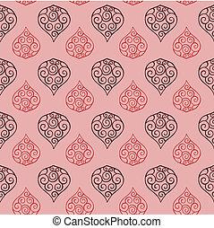 padrão floral, seamless, 03