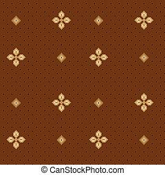 padrão floral, seamless, 04