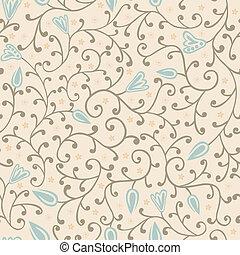 padrão floral, seamless, coloridos