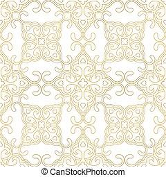 padrão floral, telha, seamless