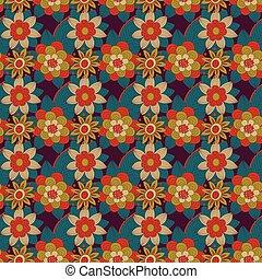 padrão floral, vetorial, desenho
