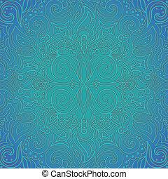 padrão, fundo, ornate