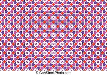 padrão, geomã©´ricas, vetorial, seamless