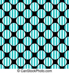 padrão, -, geométrico, vetorial, fundo, repetindo, círculo