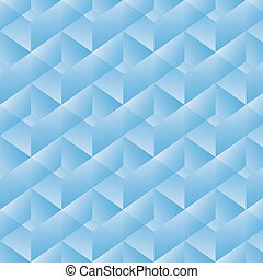 padrão geométrico, vetorial, rectangles., ilustração, azul
