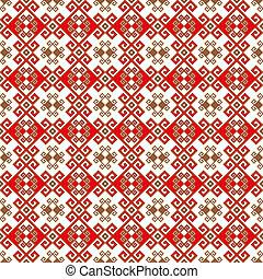 padrão, imagem, ukrainian