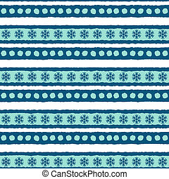 padrão, inverno, seamless