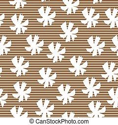 padrão, listrado, flowers.