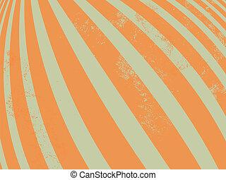 padrão, -, listras, ondulado, retro, linhas
