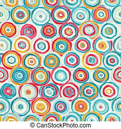 padrão, luminoso, abstratos, piscodelica, seamless
