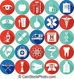 padrão, médico, seamless