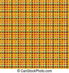 padrão, mexicano, seamless, tecido