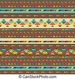 padrão, nativo, style., seamless, étnico