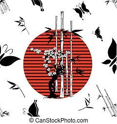 padrão, nippon, background4, japoneses