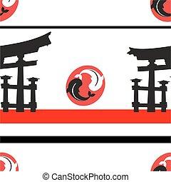 padrão, nippon, background5, japoneses
