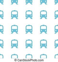 padrão, original, trem, seamless