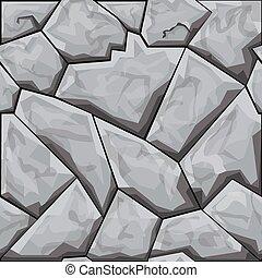 padrão, pedra, seamless