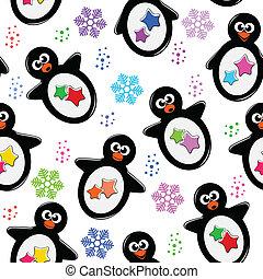 padrão, pingüim