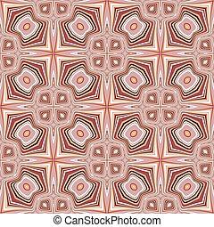padrão, projeto geométrico, seamless, coloridos