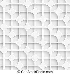 padrão, quadrados, seamless