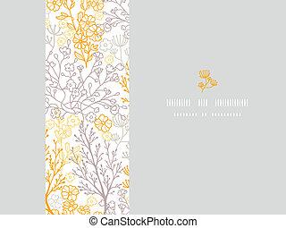 padrão, quadro, mágico, seamless, fundo, floral, horizontais